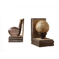 Home Golf Club and Ball Bookends