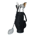 5 Piece Bbq Tools In Black Golf Bag And Golf Grips